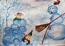 Иллюстрация к произведениям Агнии Барто